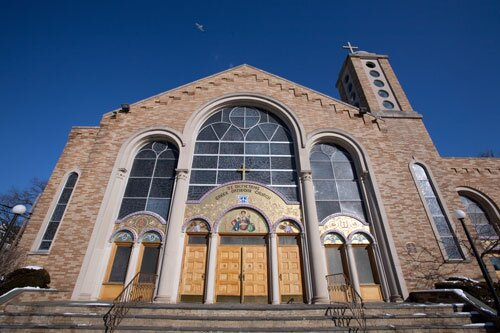 A photo of our parish's exterior.